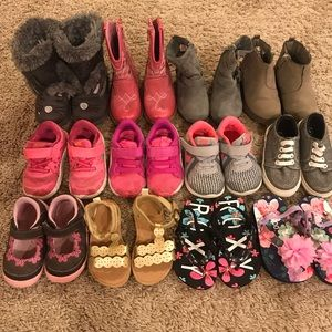 Girls Toddler Size 5 Shoes